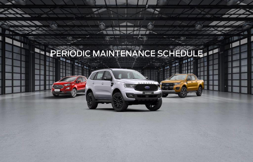 periodic maintenance schedule