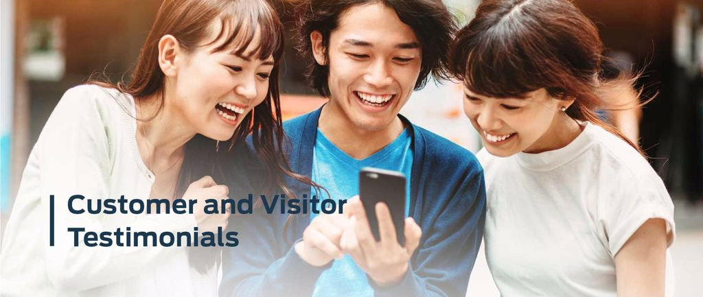 FORD LAUS CUSTOMER AND VISITOR TESTIMONIALS