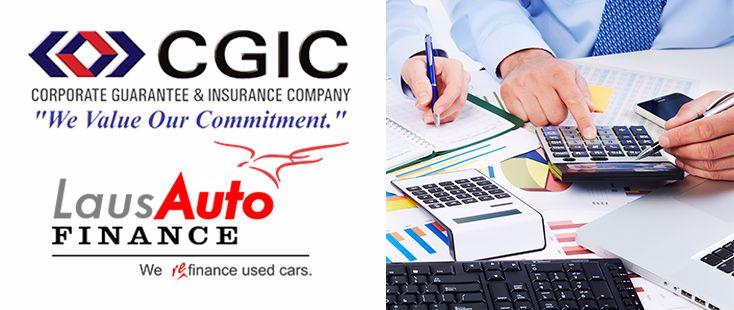 Laus Auto Finance Banner