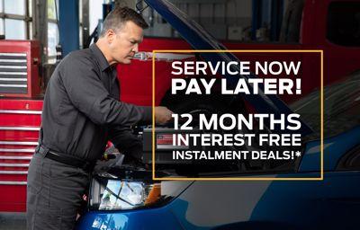 ZERO INTEREST, 12-MONTHS INSTALLMENT. FORD SERVICE & PARTS