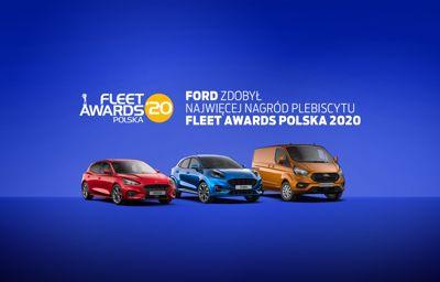 Nagrody Fleet Awards Polska rozdane. Ford najbardziej utytułowanym producentem w Polsce.