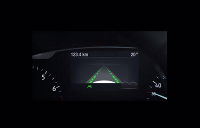 Technologie Forda – asystent pasa ruchu