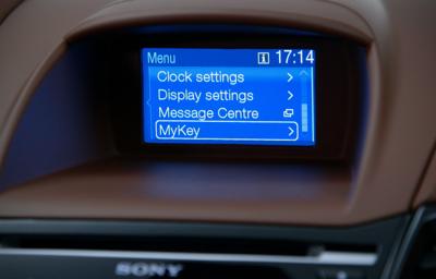 Parametry przypisane do konkretnego kluczyka - poznaj technologię Ford MyKey®