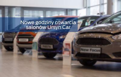 Godziny otwarcia salonów URSYN CAR