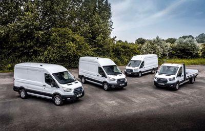 Ford E-Transit wjeżdża na europejskie drogi