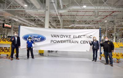Ford modernizuje fabrykę Van Dyke