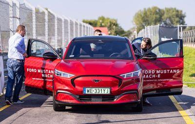 Duże zainteresowanie Fordem na Fleet Electric Day 2021. Mustang Mach-E doskonale przyjęty przez klientów biznesowych
