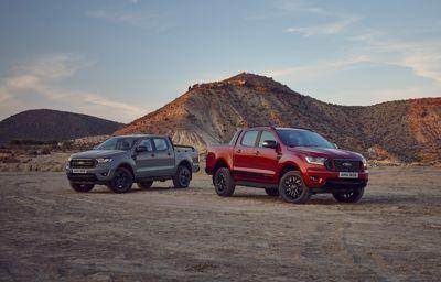 Ford dodaje ekskluzywne nowe wersje limitowane Ranger Stormtrak i Wolftrak do gamy najlepiej sprzedających się pick upów w Europie