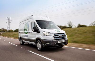 E-Transit - w pełni elektryczny samochód dostawczy Ford