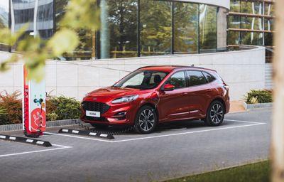 Ford Kuga PHEV najlepiej sprzedającym się pojazdem ładowanym z gniazdka