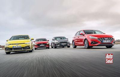 Ford Focus zwycięski w pojedynku hatchbacków
