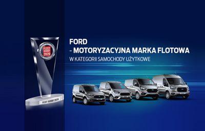 Samochody Użytkowe Ford - zwycięzcami plebiscytu Fleet Derby 2020