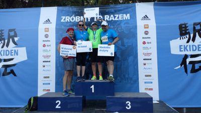 Team Auto Plaza wziął udział w biegu EKIDEN.