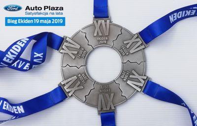 Drużyna Auto Plaza wzięła udział w Biegu EKIDEN 2019