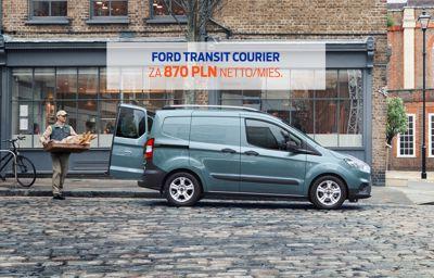Ford Transit Courier za 870 PLN netto/mies. W LEASINGU.