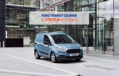 Ford Transit Courier za 1119 PLN netto/mies. W WYNAJMIE.