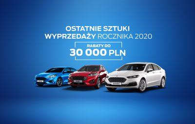Wyprzedaż rocznika 2020. Rabaty do 30 000 PLN na samochody osobowe!