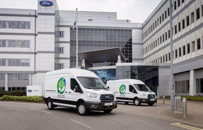Pierwsze europejskie testy nowego E‑Transita