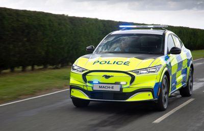 Mustang Mach-E w służbie policji