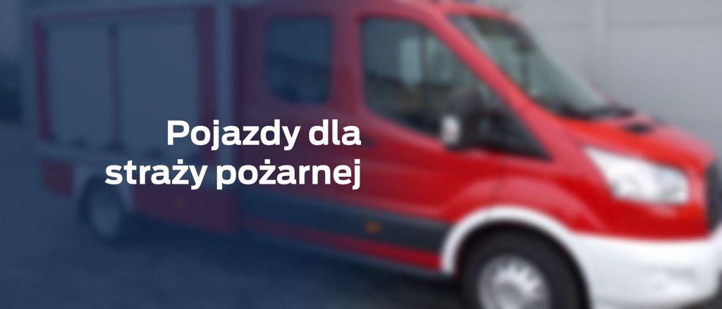 Lekki samochód ratowniczo-gaśniczy (LSRG) podwójna kabina 4×2 + 1000l wody