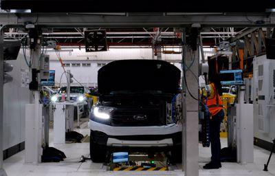 Centrum Oceny Pojazdów Forda dba, by każdy egzemplarz Rangera spełniał najwyższe, światowe standardy marki
