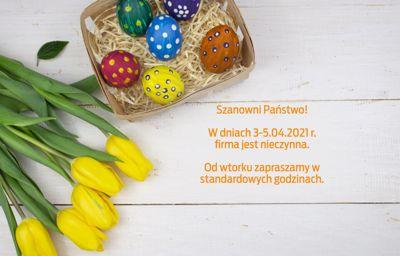 Godziny otwarcia podczas Świąt Wielkanocnych