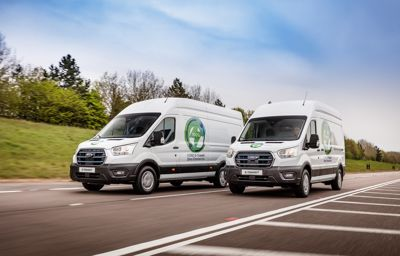 Ford zapowiada europejski program testów nowego, w pełni elektrycznego Ford E-Transit