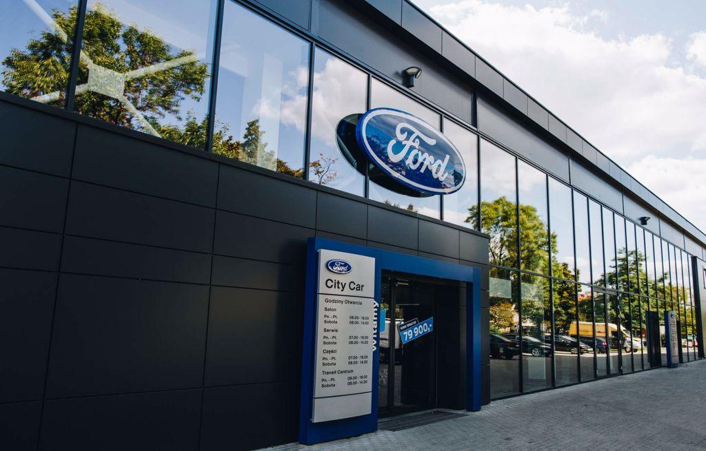 Autoryzowany salon Forda City Car w Gliwice i Katowice