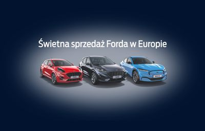 Świetna sprzedaż Forda w Europie