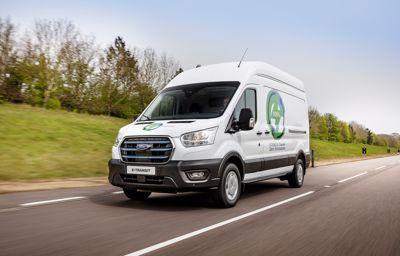 W pełni elektryczny samochód dostawczy: E-Transit