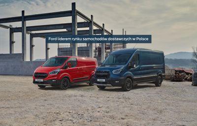 Ford liderem rynku samochodów dostawczych w Polsce