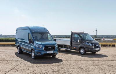 Nowy pięciotonowy Ford Transit o większej ładowności