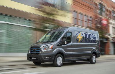 W pełni elektryczny Ford E Transit napędza przyszłość firm