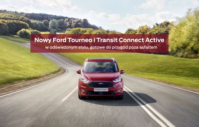 Nowy Tourneo Connect Active i Transit Connect Active