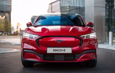 W pełni elektryczny Mustang Mach-E - spacer 3D