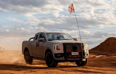 Nowy Ford Ranger - dowiedz się więcej!
