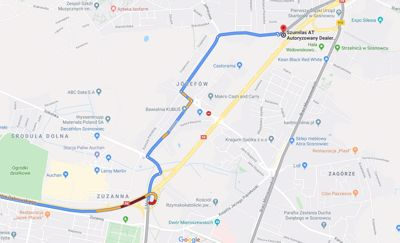 Przebudowa skrzyżowania DK94 z ulicą Długosza