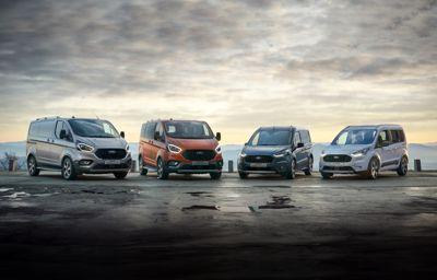 Ford liderem rynku samochodów dostawczych o DMC do 3,5 tony. Ford Ranger i Ford Transit Custom najczęściej rejestrowanymi modelami w swoich segmentach