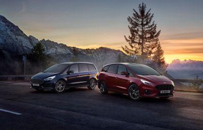 Ford S-Max i Galaxy z napędem hybrydowym