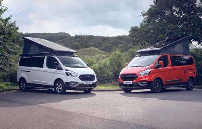 Ford Nugget łączy ducha przygody i elegancję!