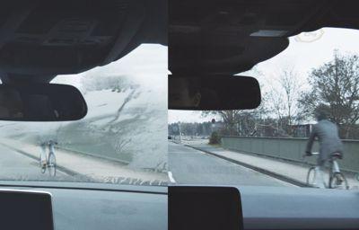 Zaparowane wnętrze samochodu?  Stacja pogodowa Forda zadba o dobry widok przez przednią szybę.