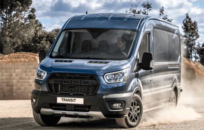 Nowe wersje do jazdy poza asfaltem i modele Active otwierają przed rodziną Forda Transita nowe terytorium.