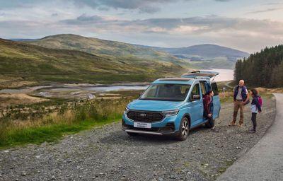 Ford Tourneo Connect - podnosi standardy pod względem stylu i przestrzeni
