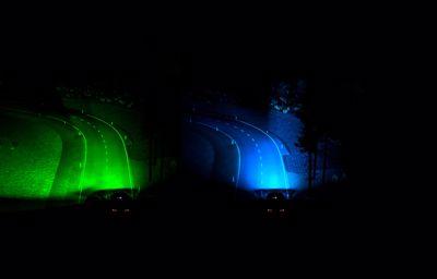 Nowe reflektory Forda ułatwiają jazdę nocą