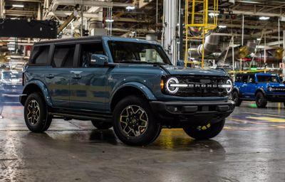 Ford Bronco powraca! Produkcja ruszyła w Michigan