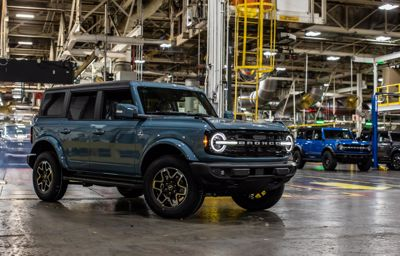 Ford Bronco powraca!