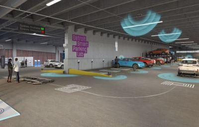 Pierwszy ośrodek testowy nowych technologii parkingowych