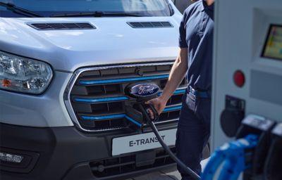 W pełni elektryczny Ford E-Transit pomoże podnieść efektywność europejskim firmom