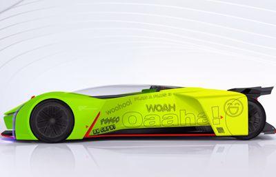 Ford przekształca wyścigówkę P1 w symulator gier