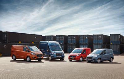 Dostawczaki Forda królują w Europie!